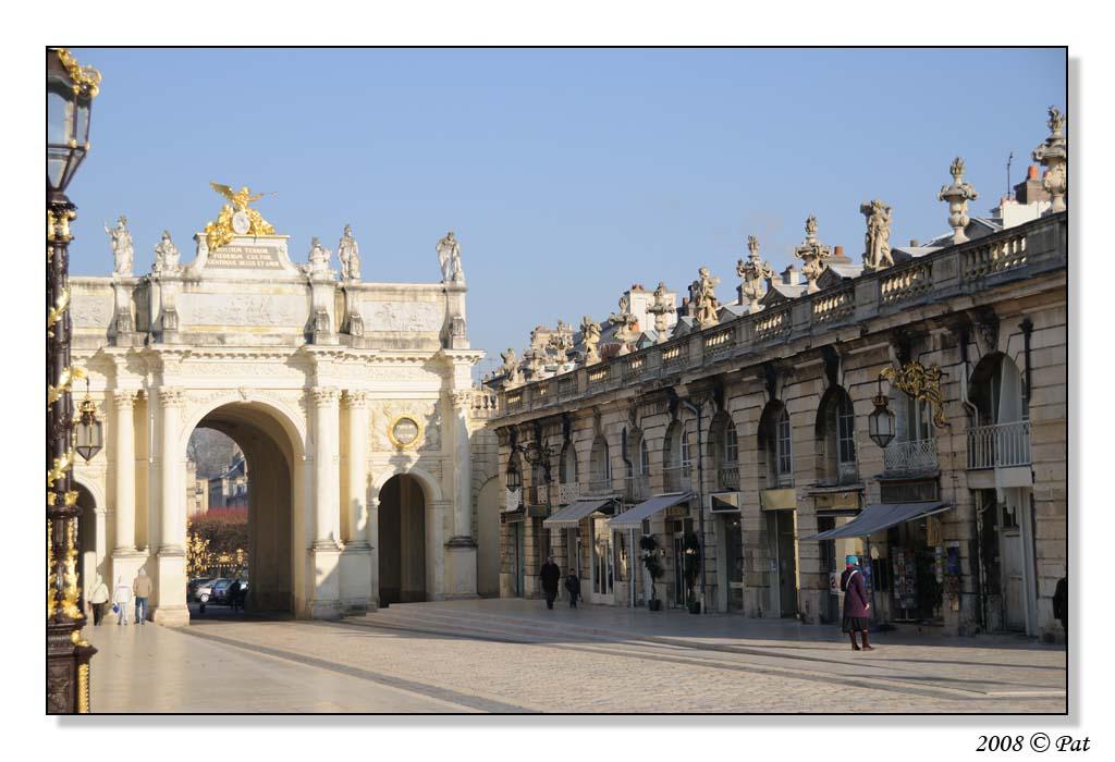 Arc Héré à Nancy (Place Stanislas)