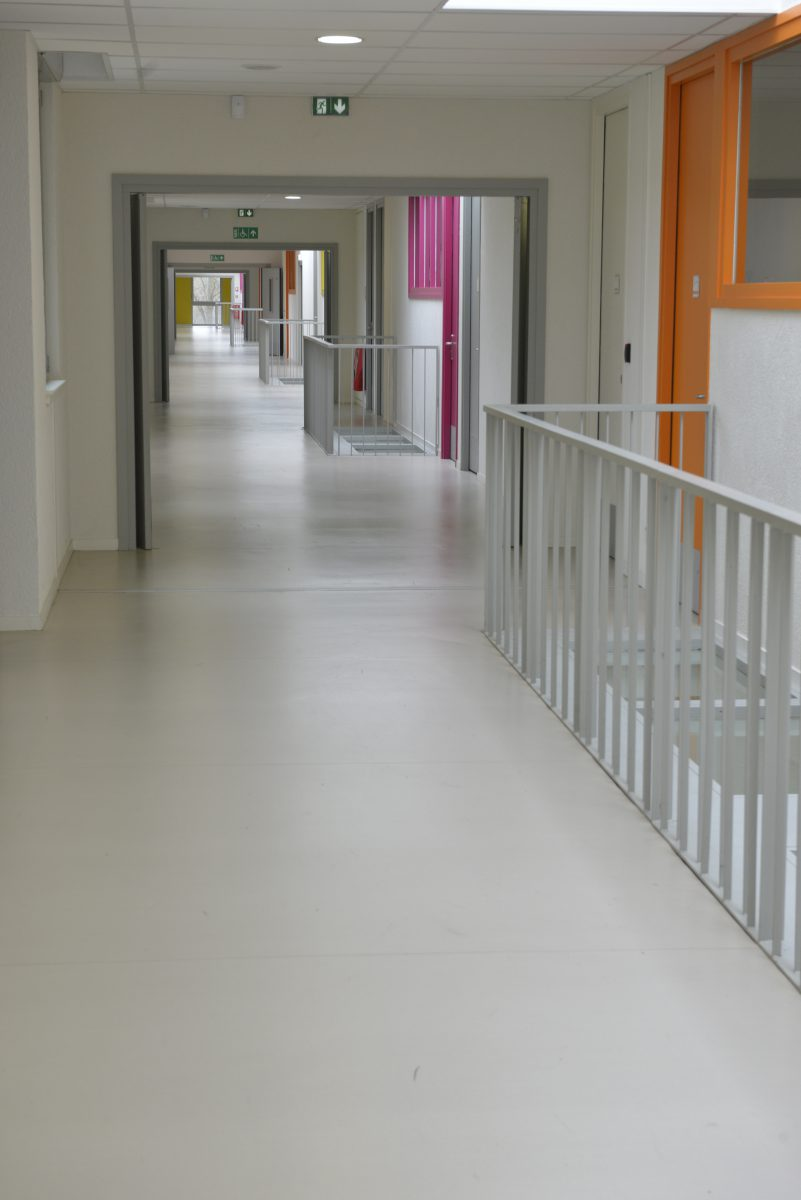 Sols souples Lycée Montigny les Metz